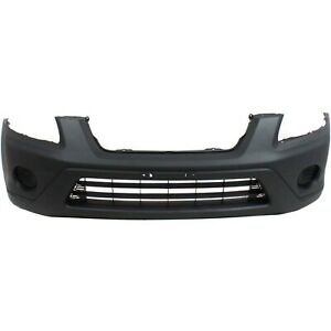 Front Bumper Cover For 2005 2006 Honda Cr v Textured