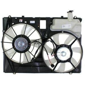 Radiator Cooling Fan For 2006 2010 Toyota Sienna