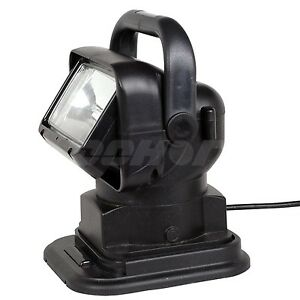 55w 24v Hid Xenon 360degree Work Search Light Remote Control Magnetic Boat Truck