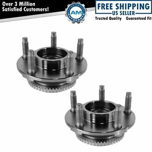 Front Wheel Hub Bearing Pair Set Of 2 New For 94 04 Ford Mustang 5 Lug