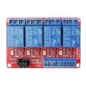 4 channel 12v Relay Module With Optocoupler High Low Level Triger For Arduino