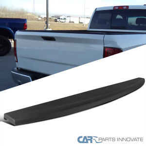 09 18 Dodge Ram Pickup Black Tailgate Top Cap Protector Spoiler Cover Moulding