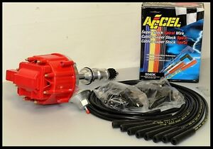 Ford 289 302 Hei Distributor Accel Straight Boot Wires 6502 r 5040 k kit