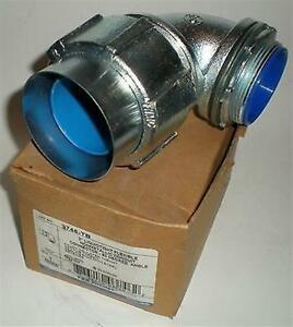 Electrical Connector T b Thomas Betts 3746 tb 2 Non Metalic Liquid Tight 90