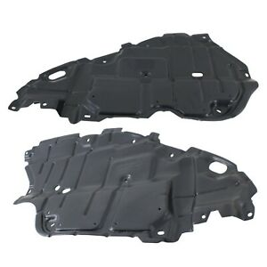 Left Right Side Engine Splash Shield For 2007 2011 Toyota Camry Set Of 2
