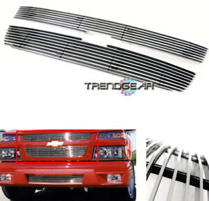 2004 2011 Chevy Colorado Pickup Front Upper Hood Billet Grill Grille 2009 2010
