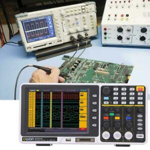 Mixed Signal Mso Oscilloscope Logic Analyzer Owon Mso7062td 8 60mhz 1gs s Fft