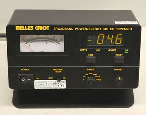 Melles Griot Broadband Power energy Meter 13pem001