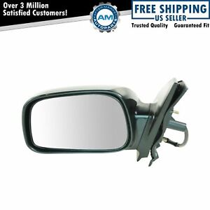 Side View Power Mirror Smooth Black Driver Left Lh For 03 08 Toyota Corolla