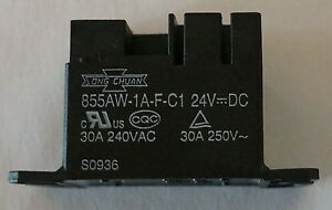 Song Chuan Power Relay 855aw 1a f c1 24vdc 855aw1afc124vdc Brand New