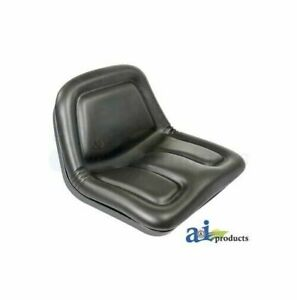 Dish Pan Flip Style Garden Tractor Seat With Brackets Replaces Cs5614
