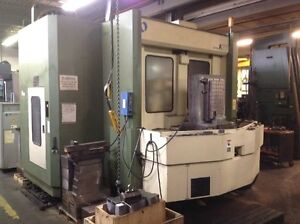 Used Makino A 77 Cnc Horizontal Mill 1998 Tsc Fanuc 25 Plts 18000 Rpm