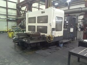 Used Makino Mcb 1210 Cnc Horizontal Mill 1985 Fanuc 31 Pallets Cat 50 Hmc Cheap