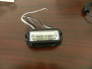 Whelen Tir3 Lin3 Led Sync Clear white Lighthead