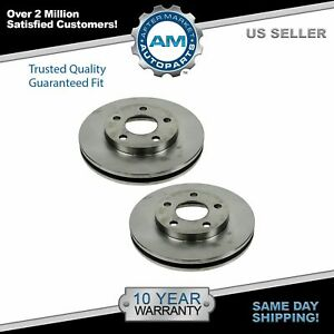 Nakamoto Brake Rotor Front Pair Set For Buick Cadillac Chevy Olds Pontiac New