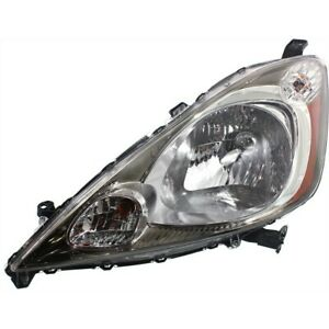 Headlight For 2009 2011 Honda Fit Sport Driver Side W Bulb