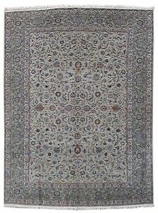 Handmade Rug 11 X 15 Persian Kashan Designed Medallion Carpet