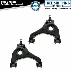 Control Arm Balljoint Front Lower Pair Set For Silverado Sierra 1500 2wd New