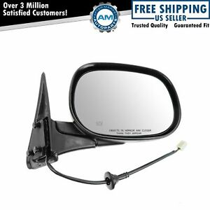 Black Power Heated Side View Mirror Passenger Side Right Rh For Dodge Ram Truck