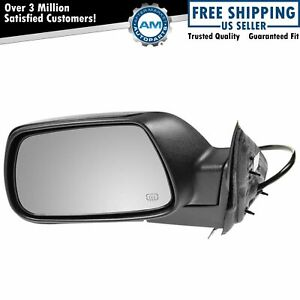 Side View Power Heated Mirror Driver Left Lh For 05 10 Jeep Grand Cherokee
