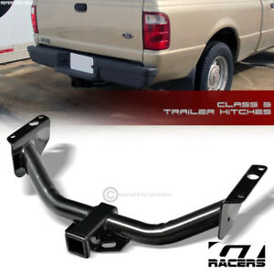 For 1983 2011 Ford Ranger Class 3 Trailer Hitch Receiver Rear Bumper Towing 2