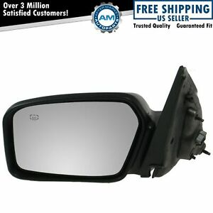 Power Heated Puddle Light Smooth Black Mirror Lh Left Driver For Fusion Milan