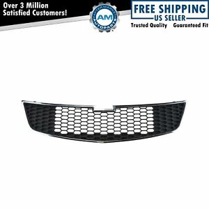 Front Lower Chrome Black Grill Grille Assembly For 11 14 Chevrolet Cruze New