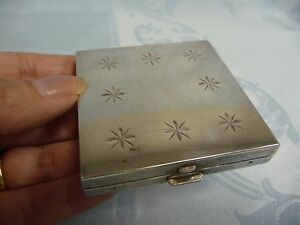 Vintage Sterling Tiffany Co Compact Mirror