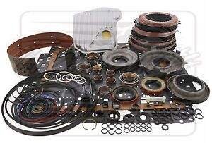4l60e 4l65e Chevy Transmission Power Pack Performance Deluxe Rebuild Kit 04 On