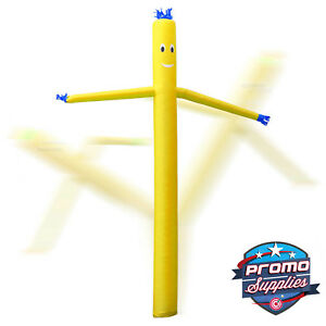 Inflatable Air Puppet Dancer Tube Guy 20 Tall Yellow blower Not Included