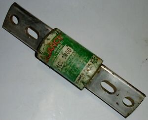Electric Lcl1200 1200 Amp Fuse 600 Vac Used Continuity Reliance Tested