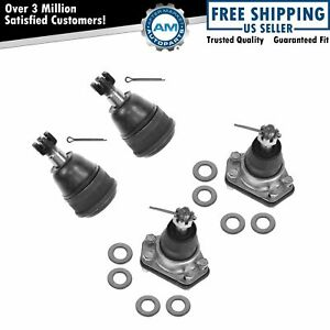 Ball Joint Upper Lower Kit Set Of 4 For Chevy Gmc Buick Cadillac Brand New