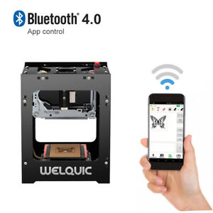 Welquic Laser Engraving Machine Engraver Diy Mark Printer Cutter Carver 1500mw