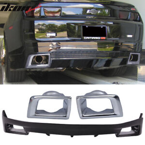 Fits 10 13 Chevy Camaro Ground Effect Zl1 Oe Rear Bumper Lip Spoiler
