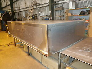 Middleby117 X 72 Pizza Oven Type L Commercial Exhaust Hood W Blower