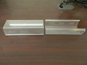 Lot Of 2 Whelen Edge Mini Lightbar Clear Side Lens 5 75