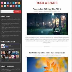 Wordpress diary Website News Magazine Theme Business free Hosting