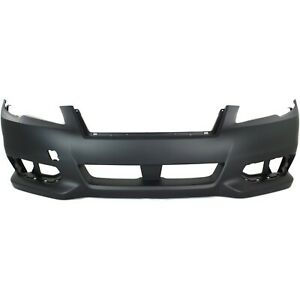Front Bumper Cover For 2013 2014 Subaru Legacy Primed