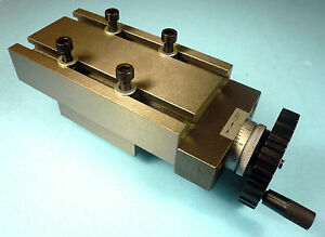 Precision Cross Slide For Lathe Mill Drill 2 3 4 X 5 Bed X 2 1 2 Travel New