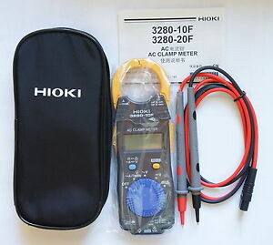 Hioki 3280 10f Clamp On Hitester 1000amp Ac Tester Clamp Meter Brand New