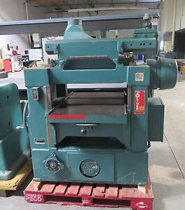 Oliver Model 299 d 24 Wood Planer 7 1 2 Hp Nice Made In Usa