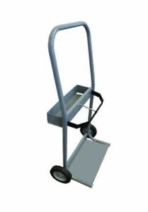 Gray Steel Cylinder Cart Size 3 Crt3