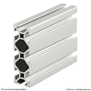 8020 Inc 10 Series 1 X 3 Smooth Tslot Aluminum Extrusion 1030 s X 96 5 Long N