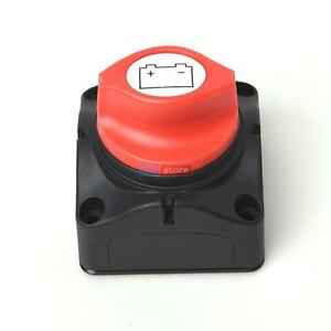 Battery Disconnect Isolator Switch For Marine Boat Car Rv Atv Vehicles