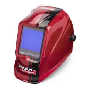 Lincoln Electric Viking 3350 Code Red Welding Helmet K4034 3