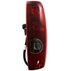 Tail Light For 2004 2012 Chevrolet Colorado Gmc Canyon Passenger Side