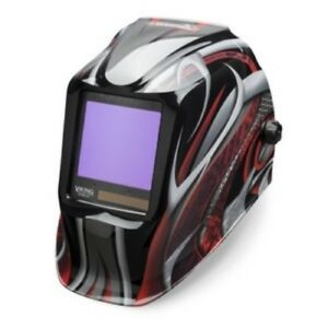 Lincoln Electric Viking 3350 Twisted Metal Welding Helmet K3248 3
