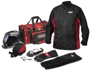 Lincoln Electronic Premium Welding Gear Ready pak K3236
