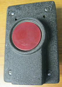 Mackworth Rees 2429 Pushbutton Red