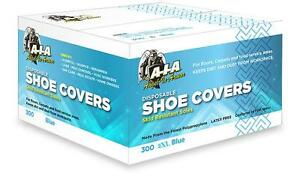 200 Disposable Non skid Shoe Covers Boot Covers For Contractors Size 2xl